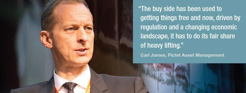 Carl James, Pictet Asset Management