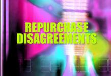 Repurchase disagreements