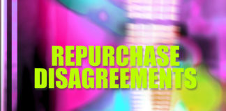 Repurchase disagreements