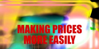 Making prices more easily