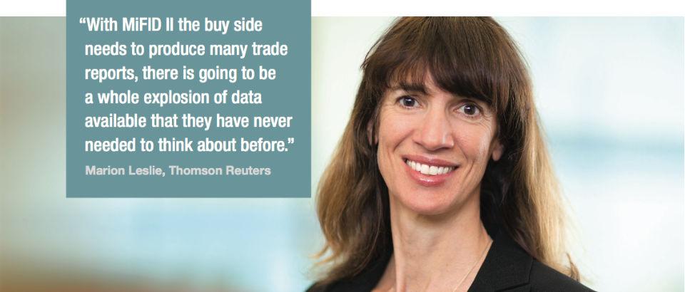 Marion Leslie, Thomson Reuters