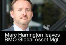 Head of FI trading Harrington departs BMO Global Asset Management