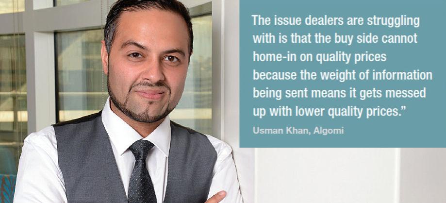 Usman Khan, Algomi