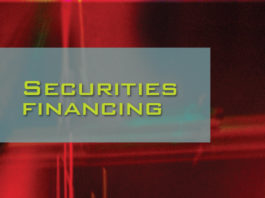 Securities Financing : US repo : Lynn Strongin Dodds