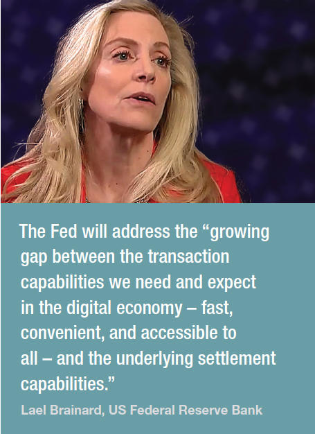 Fed Governor, Lael Brainard